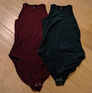 Forever 21 body suit bundle